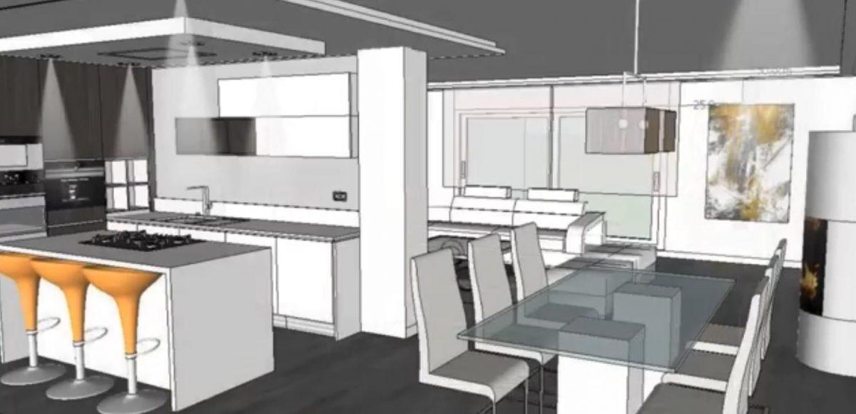 diseñar cocina ideal proyecto 3D