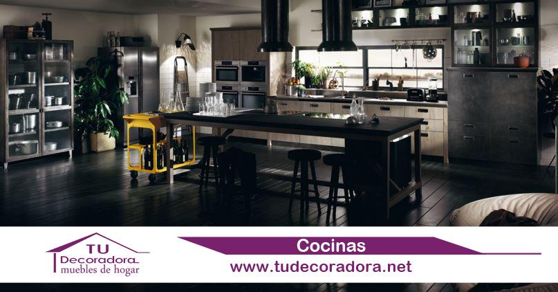 Cocinas extractor lampara