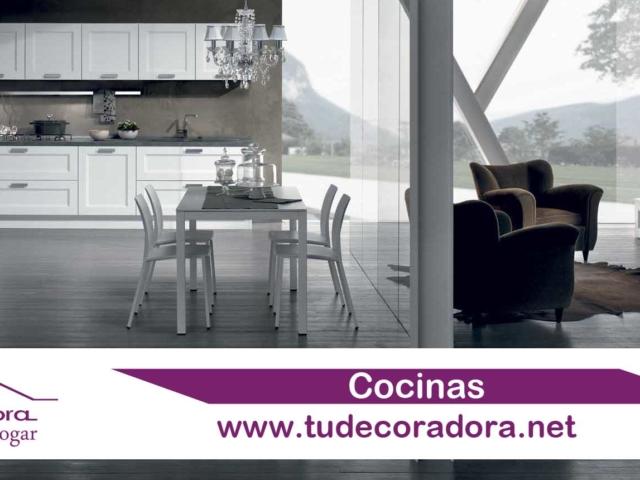 Cocinas modernas campana