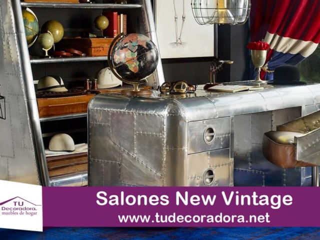 Decoradora salones new vintage Yecla