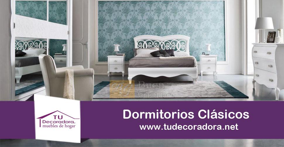 Dormitorios clásicos colchones Yecla