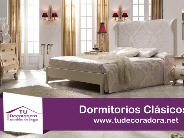 Dormitorios clásicos decoradora