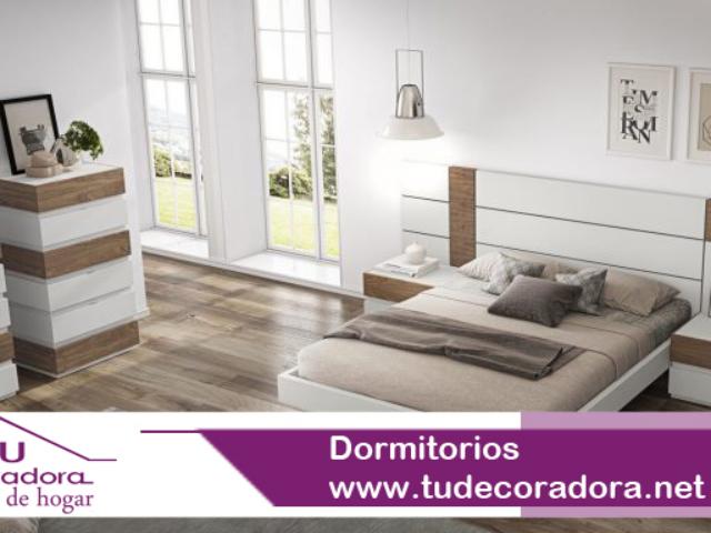 Dormitorios modernos decoradora