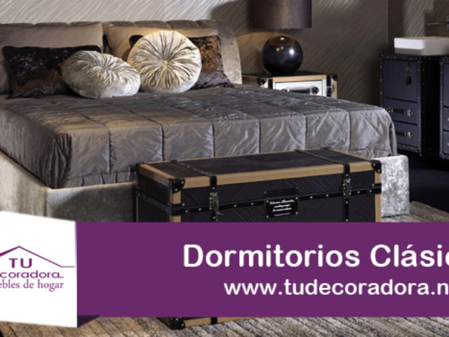 Dormitorios muebles decoradora