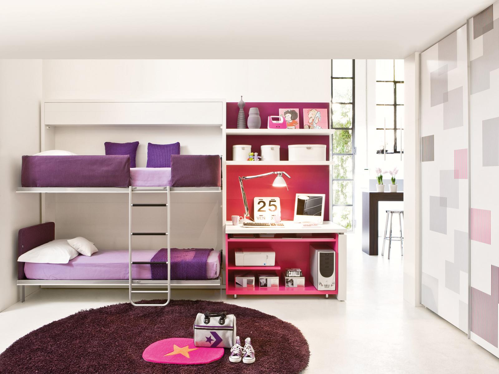 Dormitorios Juveniles Modernos Para Mujeres. Interesting Habitacin ...