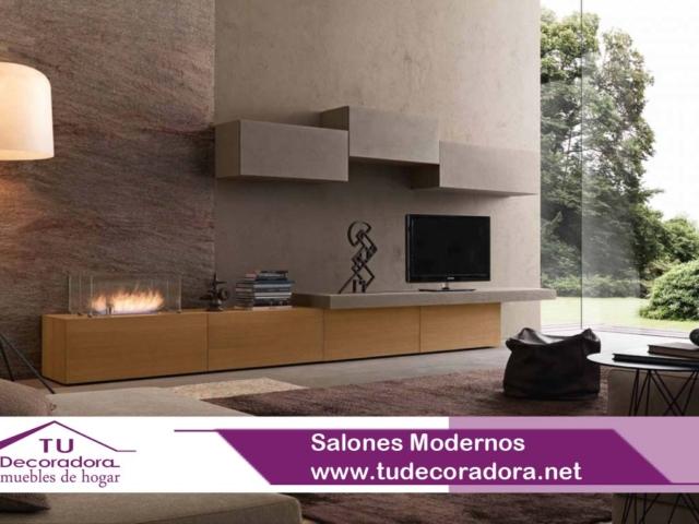 Salones Modernos Decoradora