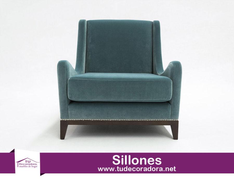 Sillon tapizado clasico