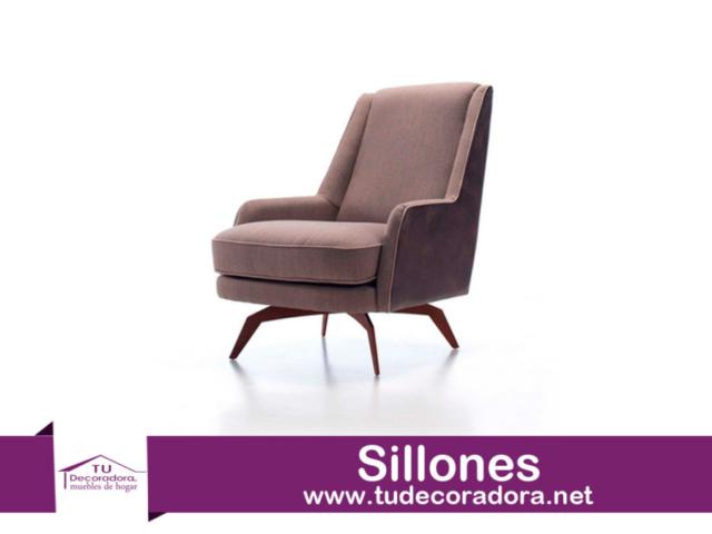 Sillon tapizado moderno