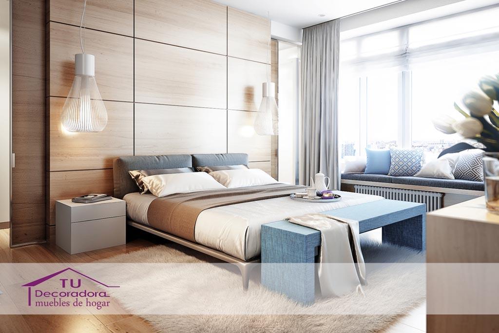 Dormitorio moderno - TuDecoradora