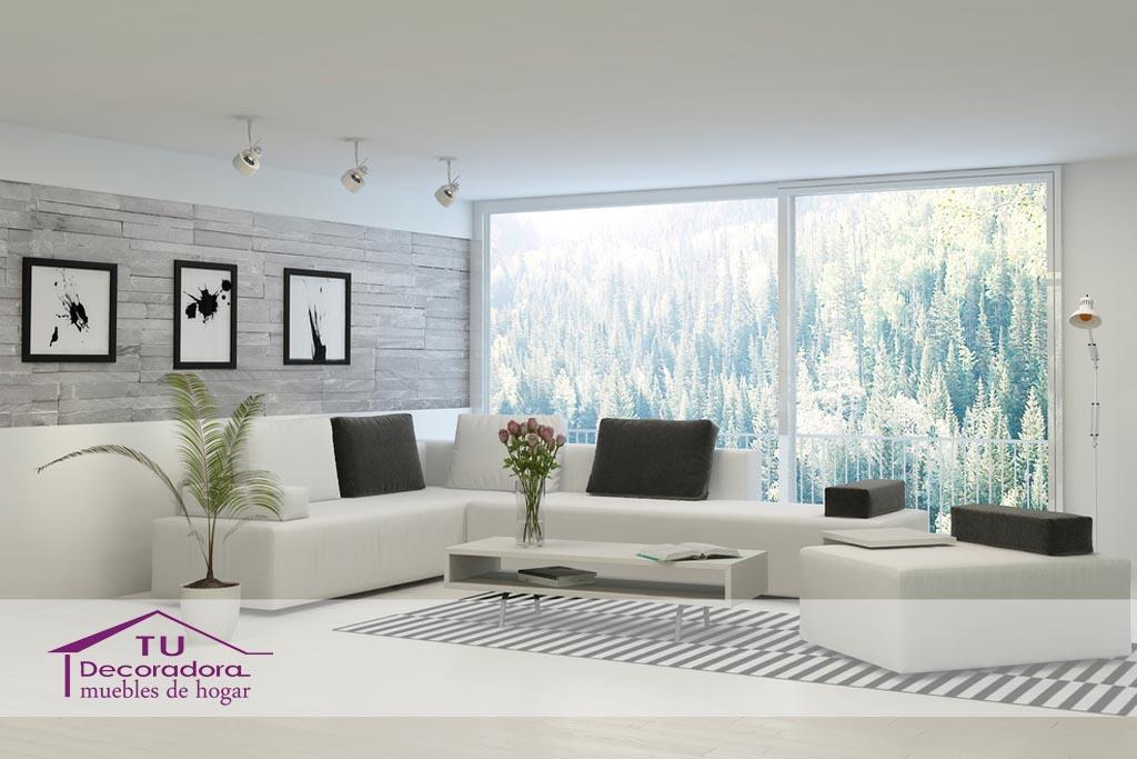 Sofá moderno - TuDecoradora