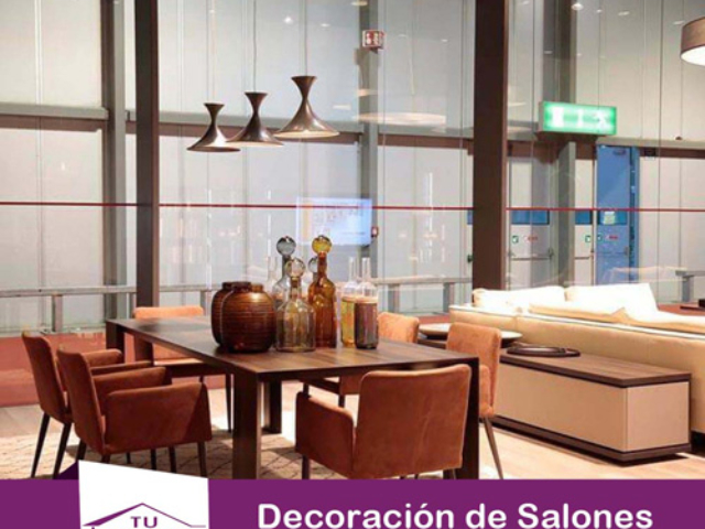 Decoracion salon muebles