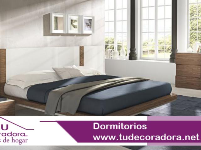 Dormitorio cama persiana