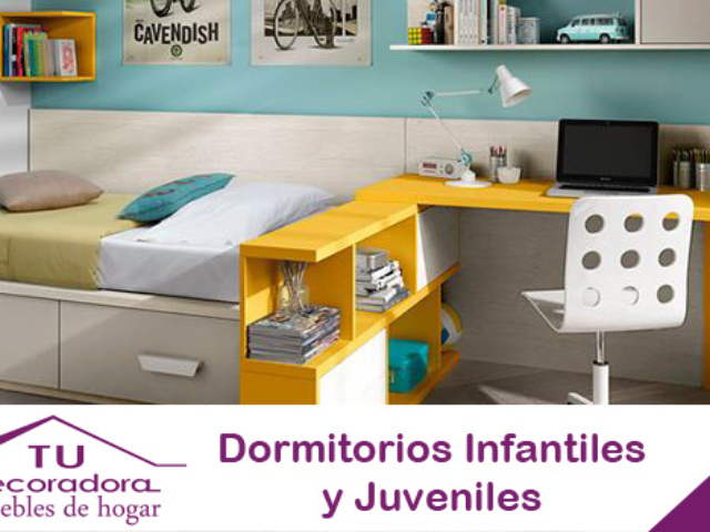 Dormitorios infantiles decoradora