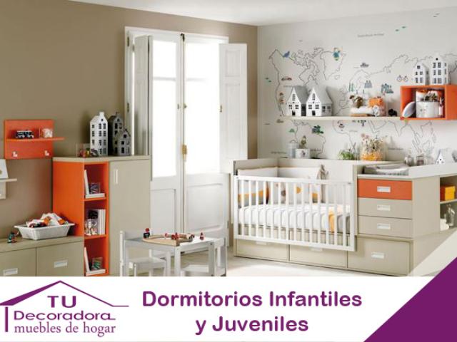 Dormitorios juveniles decoradora