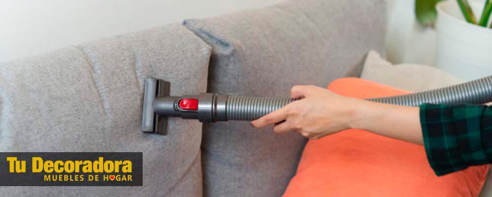 mantenimiento y limpieza del sofá - tu decoradora