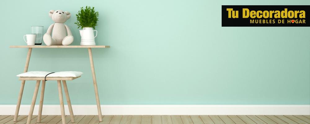 tu decoradora - tienda de muebles - Trucos de almacenaje en habitaciones infantiles - pintar las parades de la habitacion